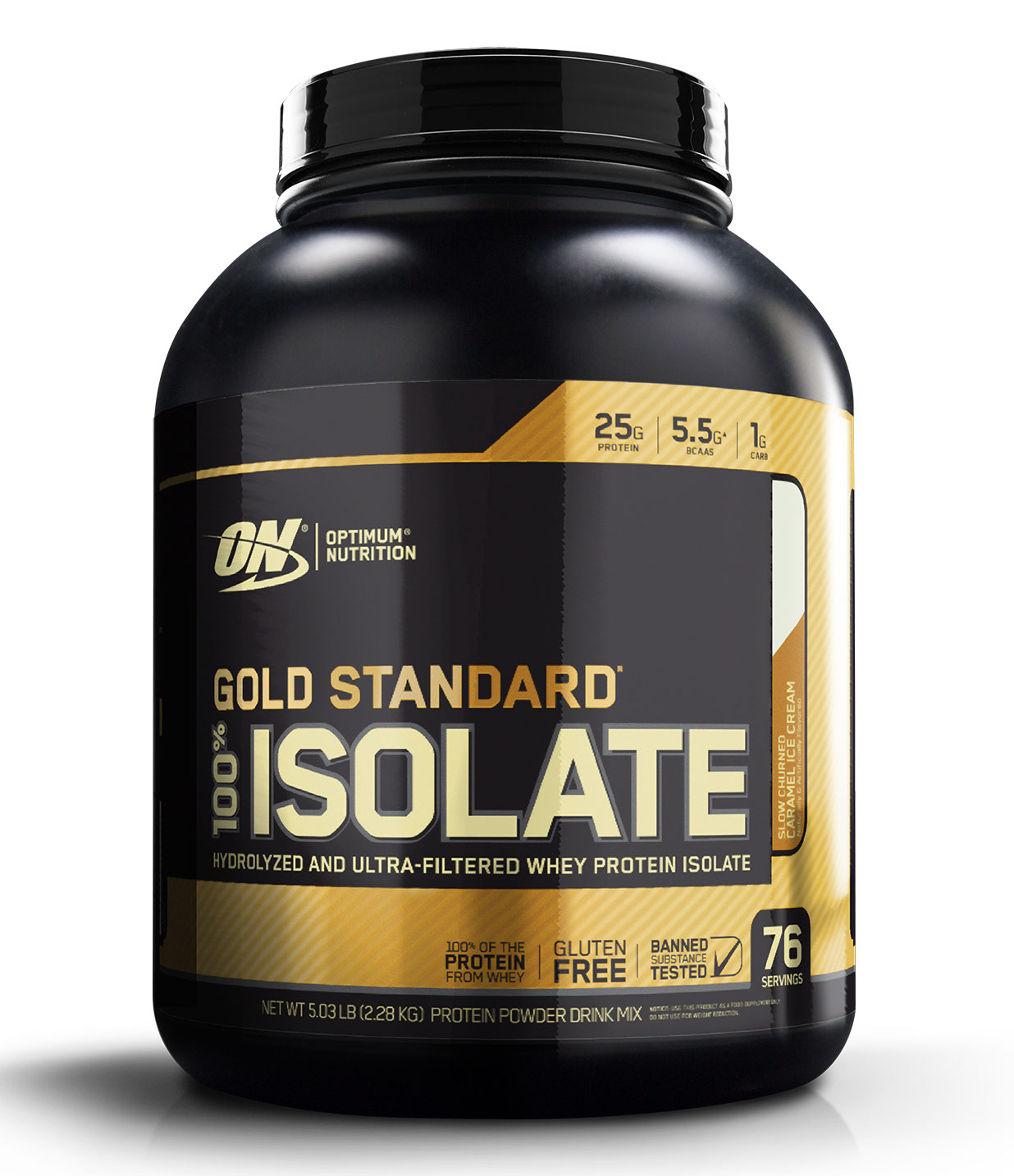 100% Gold Standard Isolate Optimum Nutrition (2360 g)