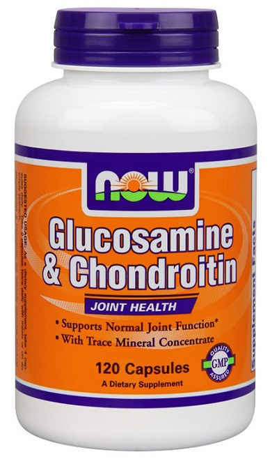 Glucosamine & Chondroitin with Trace Minerals NOW (120 Caps)
