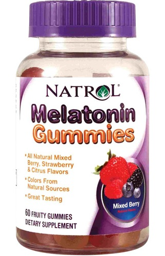 Melatonin Gummies 5mg Natrol (60 gummies)