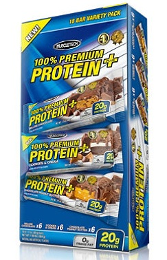 100% Premium Protein Plus Bar Muscle Tech (48 g)