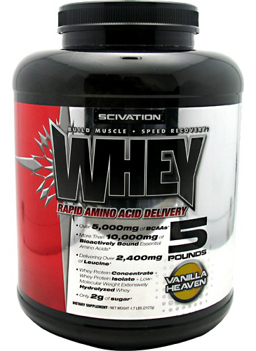Whey Scivation (2220 гр)