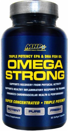Omega Strong MHP (60 softgel cap)