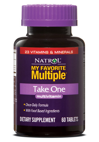 My Favorite Multiple Take One Natrol (60 tab)