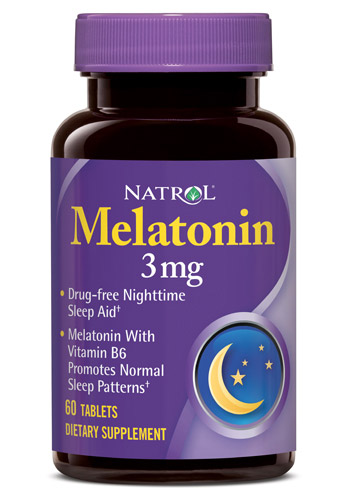 Melatonin 3 mg Natrol (60 таб)