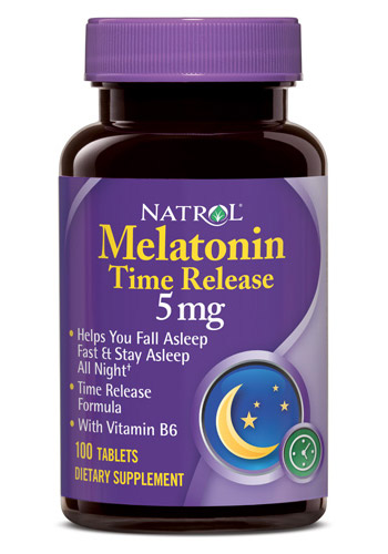 Melatonin Time Release 5 mg Natrol (100 tab)