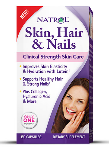 Skin Hair Nails Women`s Natrol (60 cap)
