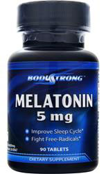 Melatonin 5 mg BodyStrong (90 таб)