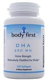 DHA 250 mg Body First (120 гель кап)