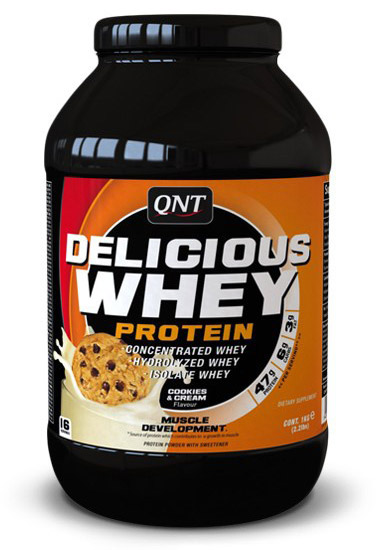 Delicious Whey Protein QNT (2,2 кг)