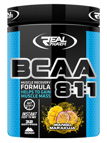 BCAA 8:1:1 Instant Real Pharm (400 гр)