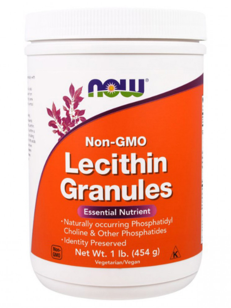 Lecithin Granules NOW (454 гр)