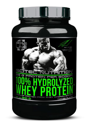 100% HYDROLYZED WHEY PROTEIN SCITEC NUTRITION (910 гр)
