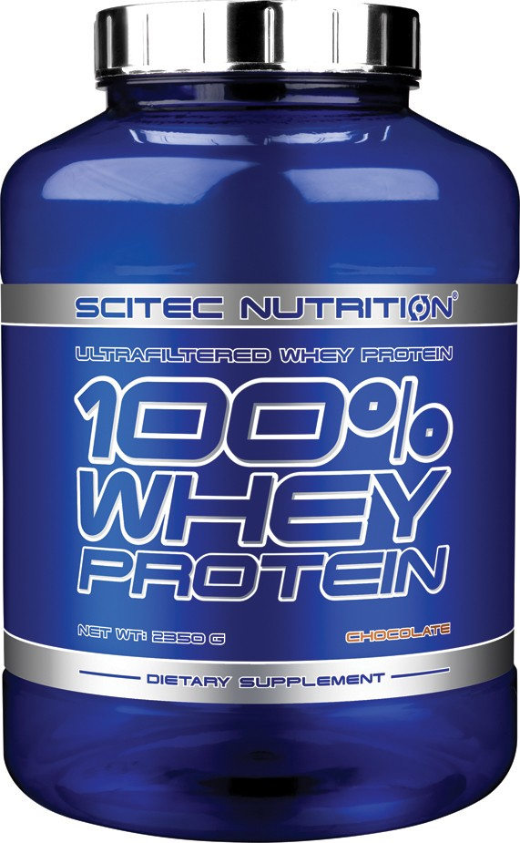 100% WHEY PROTEIN SCITEC NUTRITION (2350 гр)