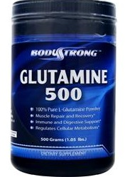 Glutamine BodyStrong (500 grams)