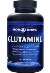 Glutamine 1000 mg BodyStrong (120 кап)