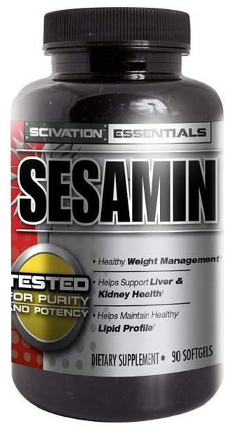 Sesamin Scivation (90 softgels)