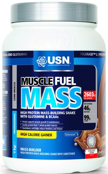 Muscle Fuel Mаss USN (1000 гр)