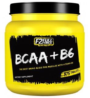 BCAA+B6 F2 Full Force Nutrition (375 таб)