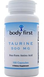 Taurine 500 mg Body First (100 caps)