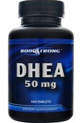 DHEA 50 mg Bodystrong (180 таблеток)