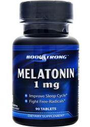 Melatonin 1 mg BodyStrong (90 таб)