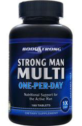 Strong Man Multi – One-Per-Day BodyStrong (180 таб)