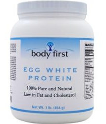 Egg White Protein 100% Pure and Natural Body First (454 gr)