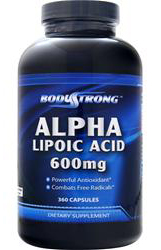 Alpha Lipoic Acid 600 mg BodyStrong (360 кап)