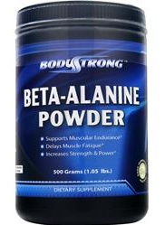 Beta-Alanine Powder BodyStrong (500 гр)