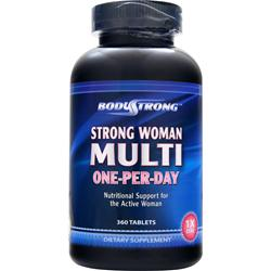 Strong Woman Multi - One-Per-Day BodyStrong (360 таб)