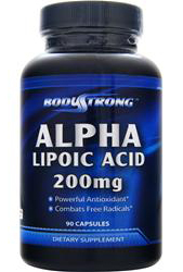 Alpha Lipoic Acid 200 mg BodyStrong (90 кап)