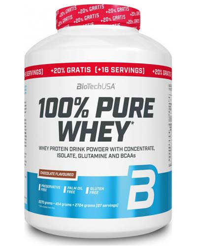 100% Pure Whey BioTech (2724 gr)