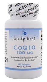 CoQ10 100 mg Body First (60 гелевых капсул)