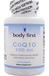 CoQ10 100 mg Body First (120 гелевых капсул)