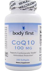 CoQ10 100 mg Body First (240 sgles)