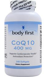 CoQ10 400 mg Body First (240 sgles)