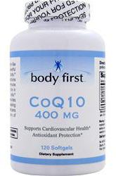 CoQ10 400 mg Body First (120 sgles)