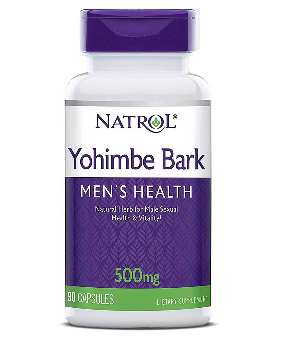 Yohimbe Bark 500 mg Natrol (90 кап)