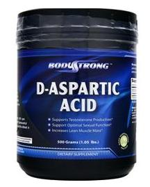 D-Aspartic Acid BodyStrong (500 гр)(годен до 05/2017)