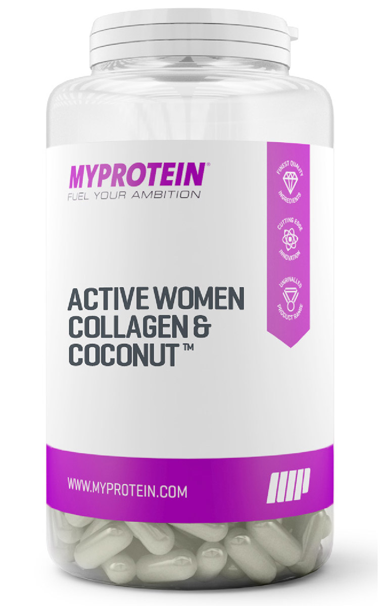 Active Women Collagen & Coconut Myprotein (60 кап)