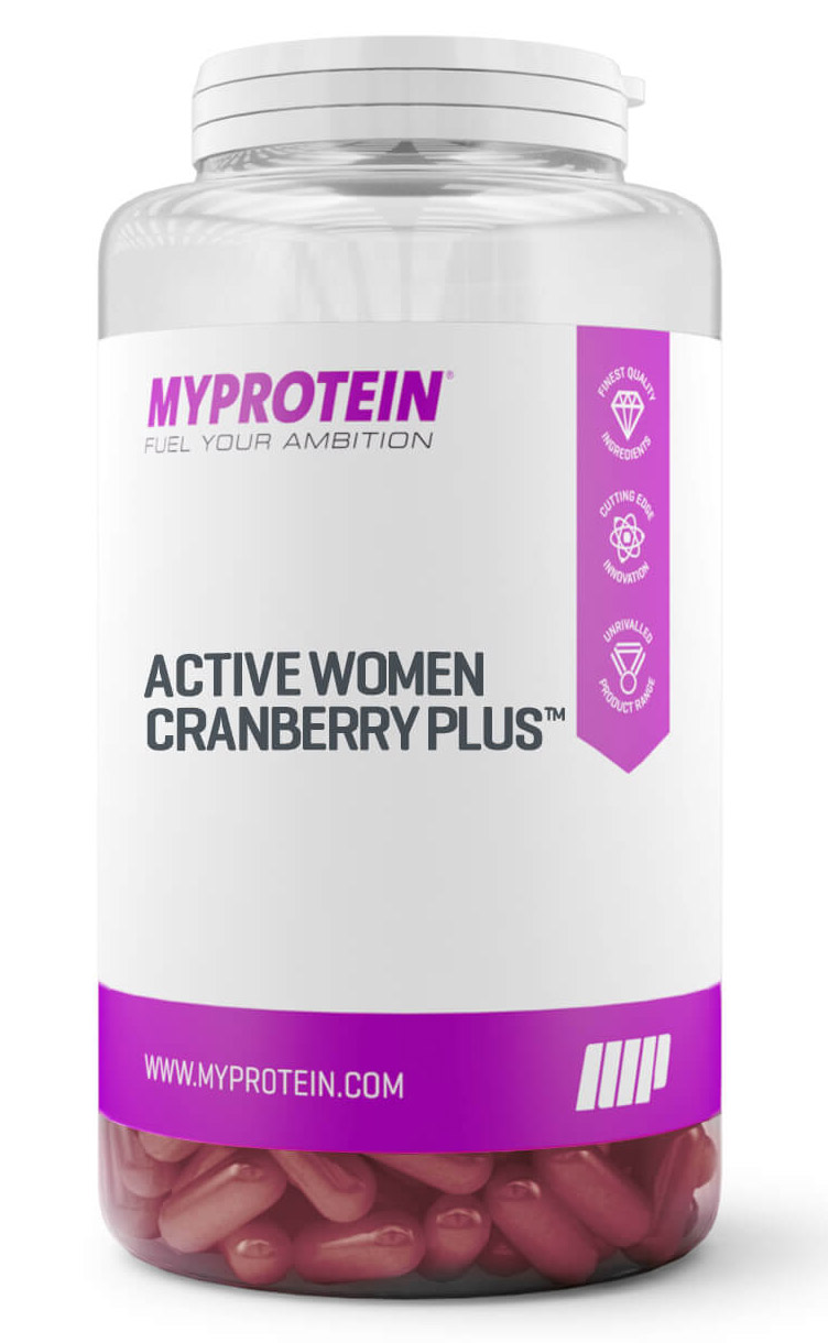 Active Women Cranberry Plus Myprotein (30 кап)
