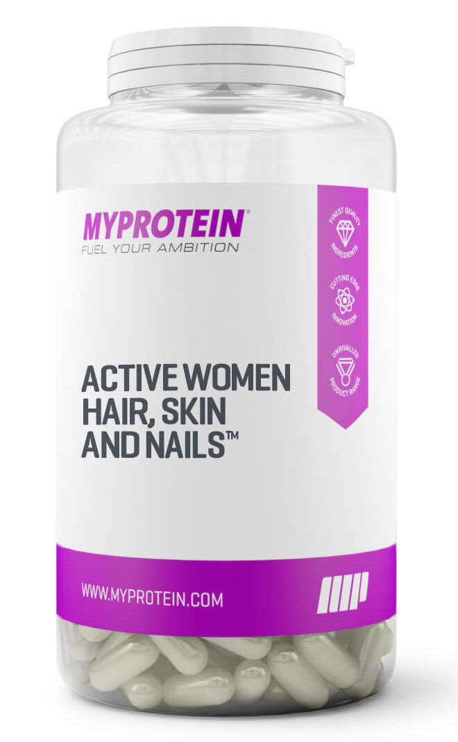 Active Women Hair, Skin & Nails Myprotein (150 кап)
