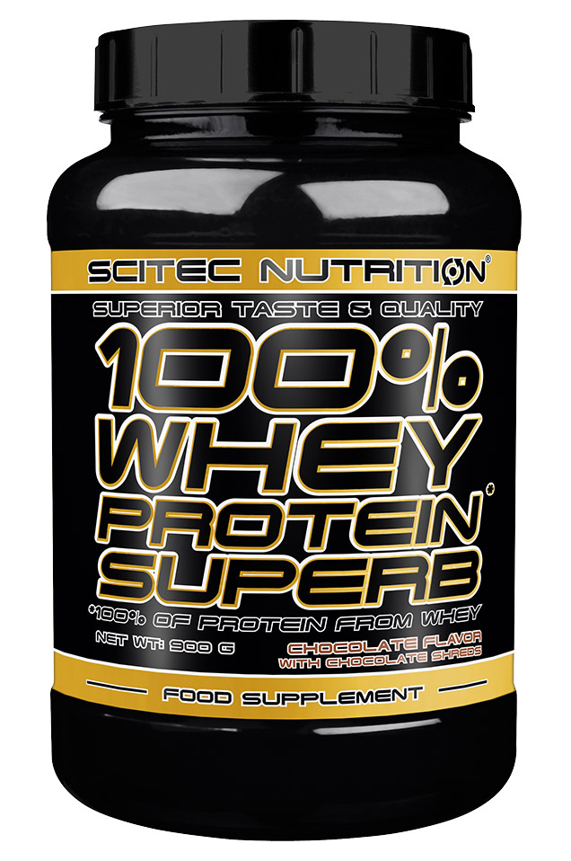 100% WHEY PROTEIN SUPERB SCITEC NUTRITION (900 гр)