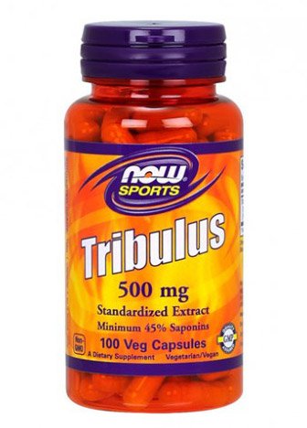 Tribulus 500 mg NOW (100 кап)
