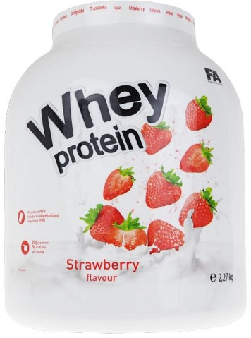 Whey Protein Fitness Authority (2,27 kg)