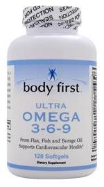 Ultra Omega 3-6-9 Body First (120 softgels)