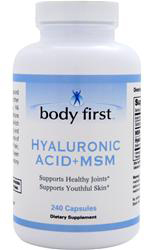 Hyaluronic Acid + MSM Body First (240 кап)