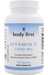 Vitamin C 1000 mg Body First (120 кап)