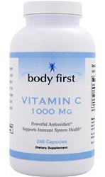 Vitamin C 1000 mg Body First (240 кап)