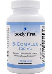 B-Complex 100 mg Body First (120 кап)